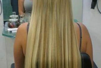 תוספות שיער אחרי