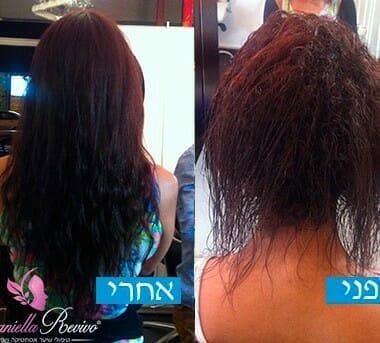 שיטות הארכת שיער