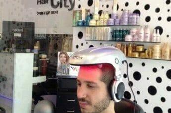 לפני הדמיית שיער